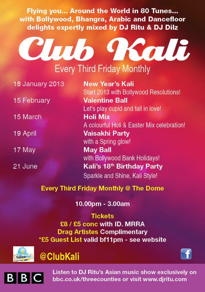 Club Kali Jan 2012