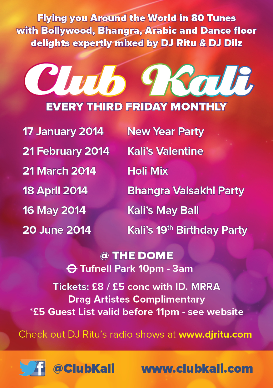 June 2014 Kali flyer Back