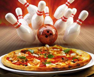 bowling pizza